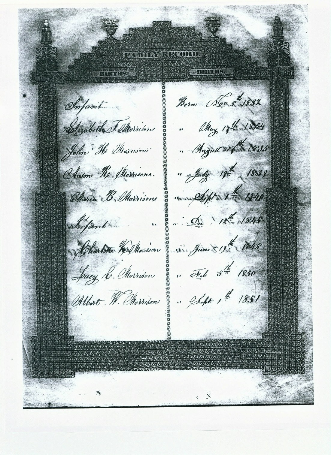 Vital records birth records found in the book boston marriagesbirths and deaths 1700 1809 1betcityfo Image collections